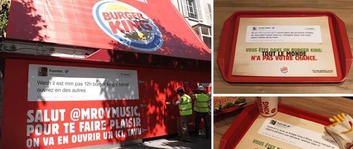 Burger King, à l'écoute de ses consommateurs